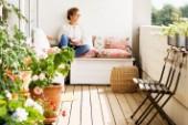Här är fyra enkla knep som ökar mysfaktorn på din balkong