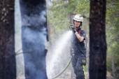 """Facket om bränderna: """"Klart det tär på brandmännen"""""""