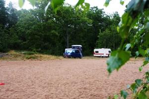 Campare använder Lögarebergen som ställplats • Inte okej enligt allemansrätten