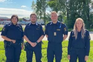 """De är Piteås nya polisaspiranter – därför är det viktigt att få fler poliser till Norrbotten: """"Känns roligt att få blanda teori med praktik"""""""