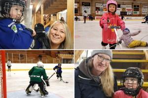 Hockeyskolan på sudret växer så det knakar