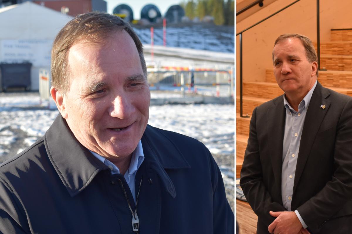 Statsministern besökte Skellefteå