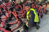"""Polisen om läget: """"Jag blev faktiskt chockad när jag såg hur ungdomar åkte sparkcykel"""""""