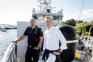 Insats mot gängkriminella på vattenskotrar