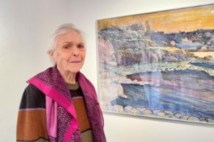 Aina Larssons långa konstnärsliv i komprimerat format
