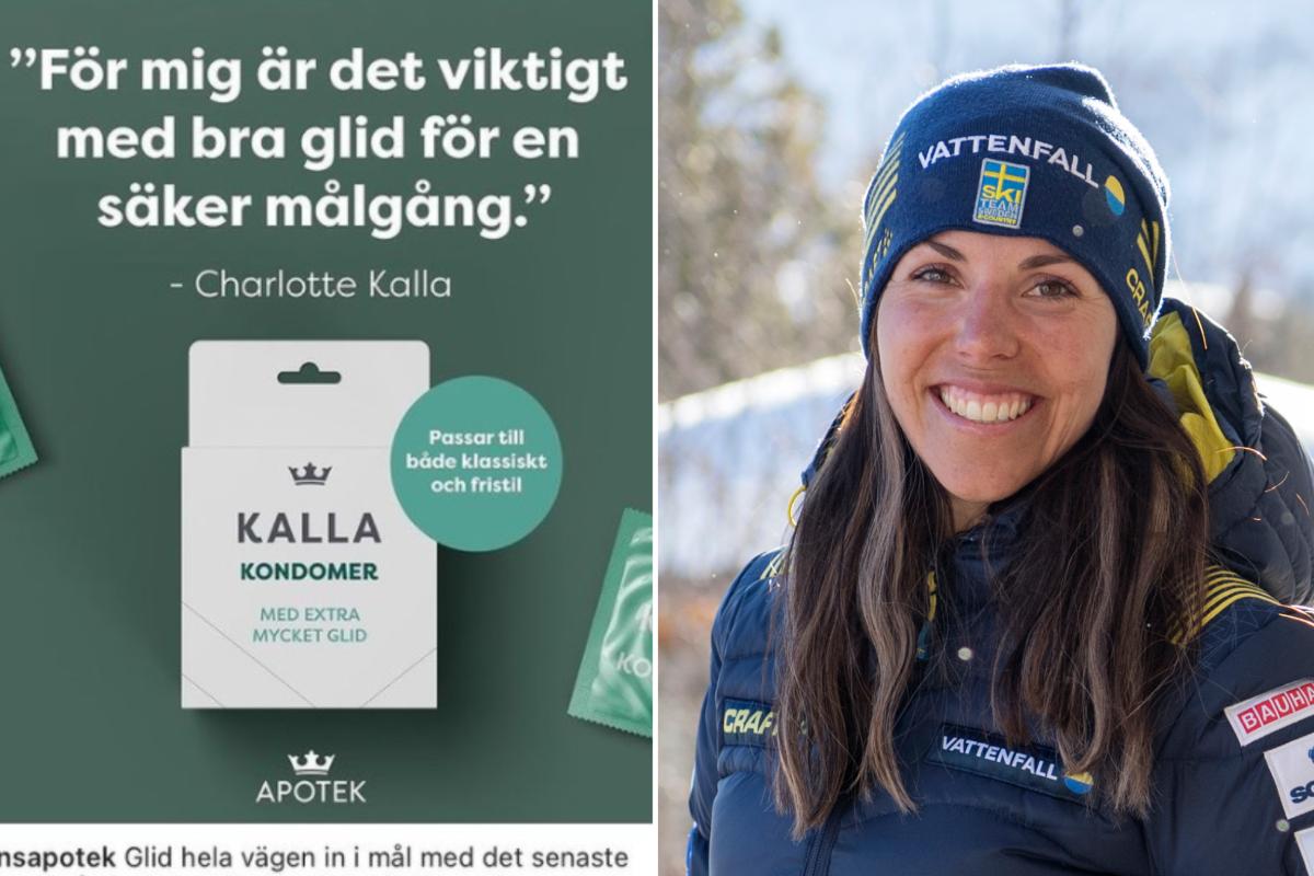 """Charlotte Kallas kondom-kupp: """"Viktigt med bra glid"""""""
