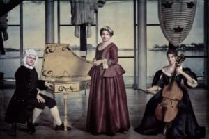 Trio gör fina porträtt av två mästare
