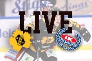 LIVE: Följ matchen mellan Skellefteå AIK och Oskarshamn