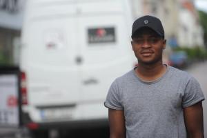 Gatufotboll i hemlandet Ghana formade Enoch Adu