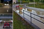 Vattenläcka vid Tessinskolan – tunnel svämmades över