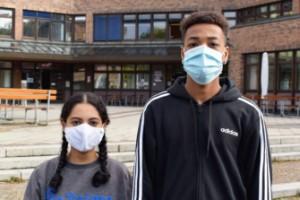 Karantänhot hänger ständigt över tyska elever