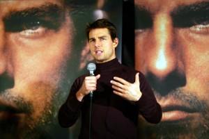Favoriten: Mästerlig Tom Cruise i snitsig kostym
