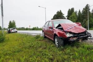 Kvinna i 30-årsåldern omkom i olyckan