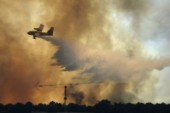 En död i skogsbrand i Portugal