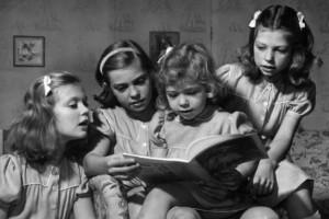 Kasta böcker över barnen, föräldrar!