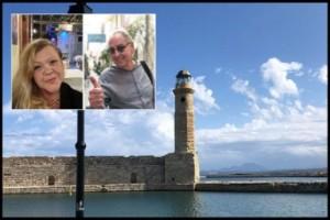 """Luleåbor på Kreta om skalvet: """"Trodde jag fick blodtrycksfall"""""""