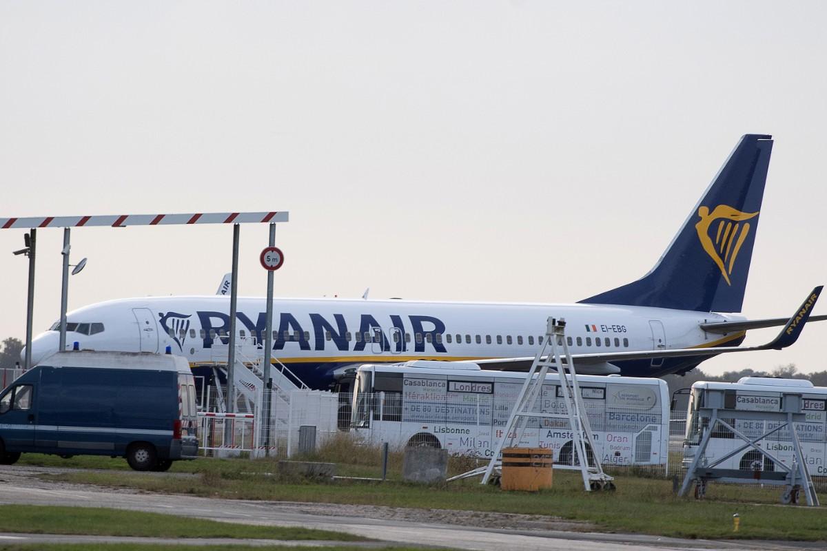 Brakförlust för Ryanair