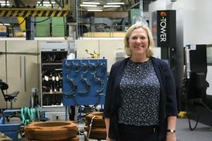 """Hon är företagets första kvinnliga vd: """"Behöver fler kvinnor och fler unga"""""""