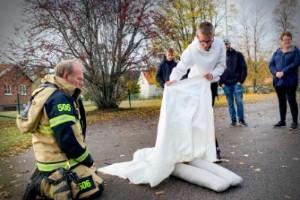 Brandmännen gav sina bästa råd i Godegård - det är viktigast