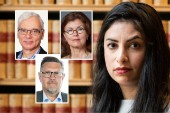 Martin Klepke, Arbetet, Heidi Avellan, Sydsvenskan, och Olov Abrahamsson, NSD, tyckte till om V-ledaren Nooshi Dadgostars insats i radio-Ekots lördagsintervju.