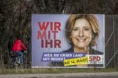 Malu Dreyer och SPD fick 35,7 procent av rösterna i det tyska delstatsvalet i Rheinland-Pfalz.