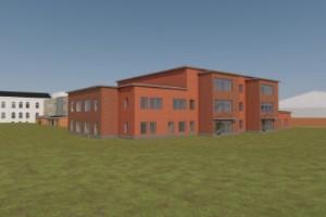 Så kommer den nya skolan att se ut