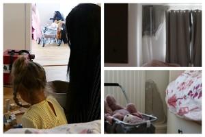 Alice, 3, har bott i fuktskadad lägenhet i sju månader