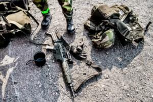 Soldat ersätts efter vådaskott