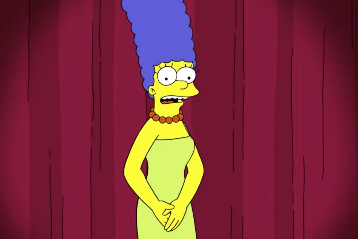 Marge Simpson höjer rösten