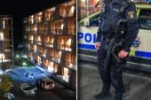 Stor polisinsats under natten – sex personer anhölls