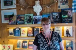 Hon driver eget bokförlag sedan 20 år tillbaka