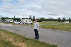 Pandemin stoppar camparna från att komma till Boden