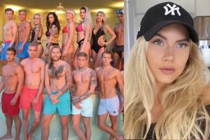 """Rebecca från Piteå deltog i norska Paradise hotel: """"Produktionen ingrep"""""""