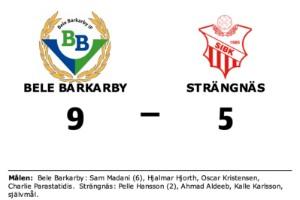 Strängnäs förlorade borta mot Bele Barkarby