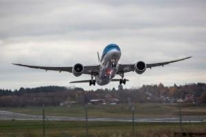 """Här lyfter jätteplanet från Norrköpings flygplats: """"Första gången vi har ett sånt här"""""""