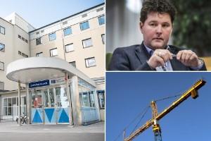 """Nya sjukhusbyggnaden på Skellefteå lasarett kan ta åtta år att färdigställa: """"Man kan inte gena vid ett så stort projekt"""""""