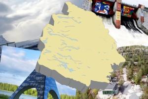 Quiz: Norrbottniska landmärken - vet du var de ligger?