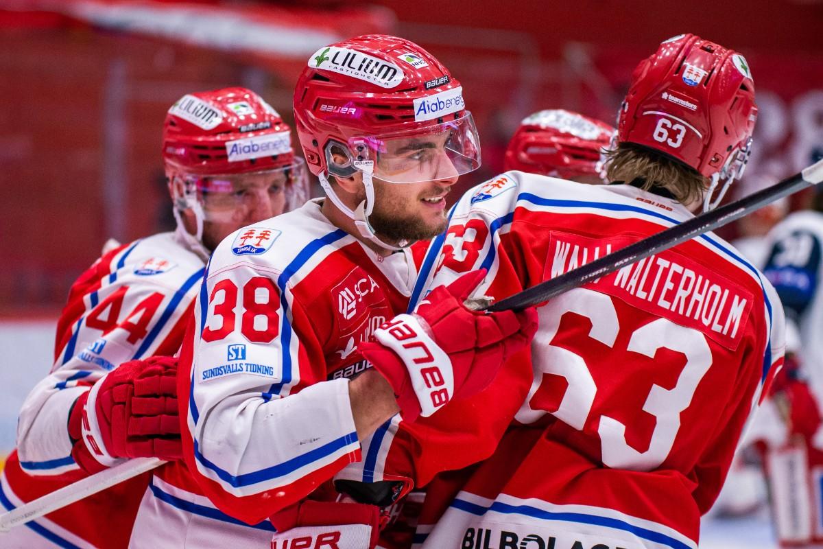 Ex-AIK:aren frälste Timrå – gjorde matchvinnande målet