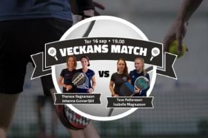 TV: Se veckans match – Ragnarsson/Gunnerfjäll – Pettersson/Magnusson