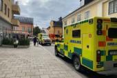Brand på restaurang Basilico i centrala Uppsala