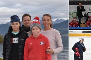 """Familjen Hockey från Piteå har emigrerat till Schweiz på nytt • Luttrade frun sa """"nej"""" till flytt upprepade gånger • Betalade ur egen ficka för att lämna Skellefteå AIK"""