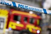 Misstänkt mordbrand – skadad till sjukhus