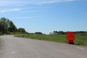 Populär väg stängs av för trumbyte