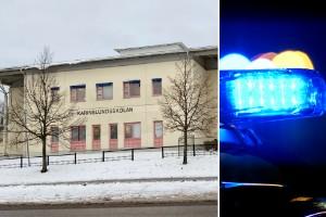 Skola drabbad av nytt inbrott – polis sökte med hund
