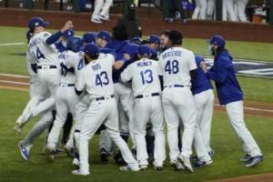 32 års väntar är över för Dodgers