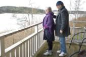 """Fem år efter stroken – nu går Viveka: """"Jag är envis"""""""