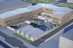 De bygger Kirunas nya polishus