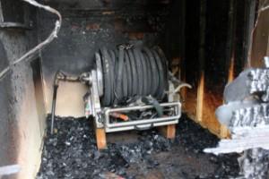 """Finns misstänkt för brand vid skola: """"Tack vare tips"""""""