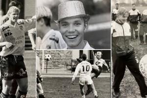 Legendarerna: Jesper Hammarlund gjorde allsvensk debut som 17-åring