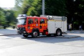Larmet: det brinner i förskola i Rejmyre